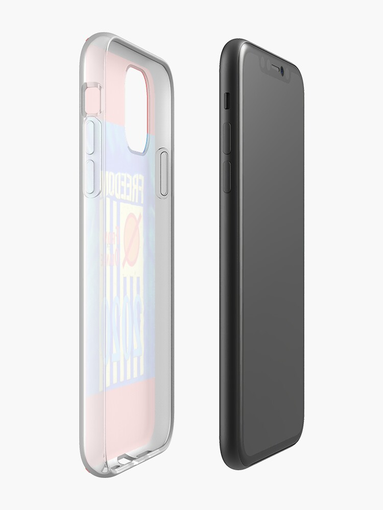 coque porte carte iphone x - Coque iPhone « Liberté d'Orange 2020 », par JLHDesign
