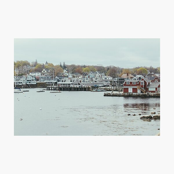 A View of Rockport Photographic Print