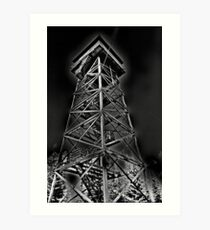 Lookout Tower Art Print