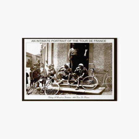 TOUR DE FRANCE; Vintage Taking A Break Print Art Board Print