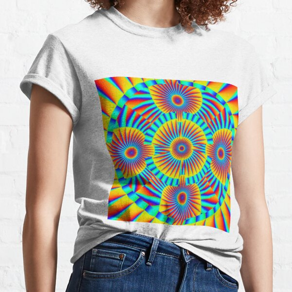 Motif, Visual Art, Kaleidoscope Classic T-Shirt