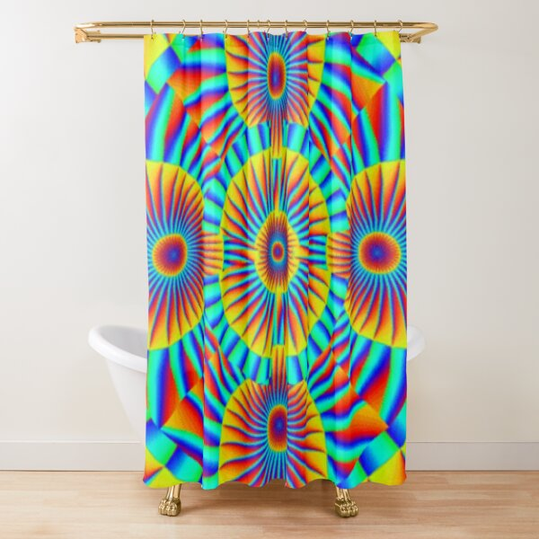 Motif, Visual Art, Kaleidoscope Shower Curtain