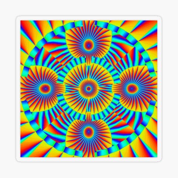 Motif, Visual Art, Kaleidoscope Transparent Sticker