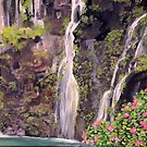 Hana Waterfalls in Hawaii by Teresa Dominici