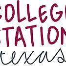 «Estación de la universidad, Tejas» de Lindsey Morrison
