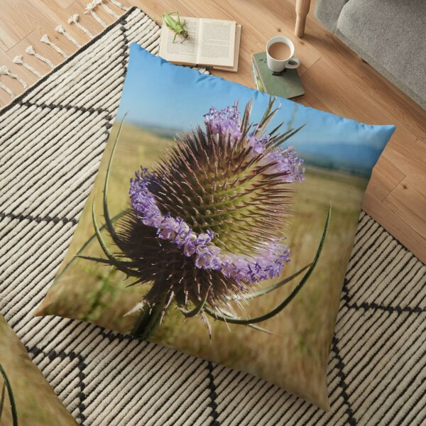 Teasel Bloom Floor Pillow