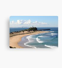 Nobbys Headland - Newcastle, NSW Canvas Print