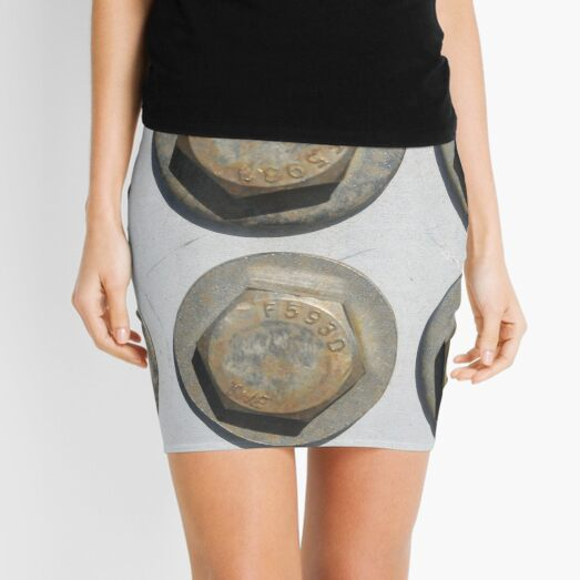 Abstract,pattern,psychedelic,twist,decoration,repetition,creativity Mini Skirt