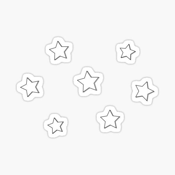 süße kleine Sterne Sticker