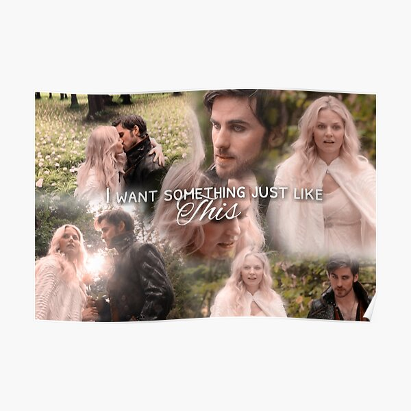 13. Captain Swan- Something Just Like This Poster