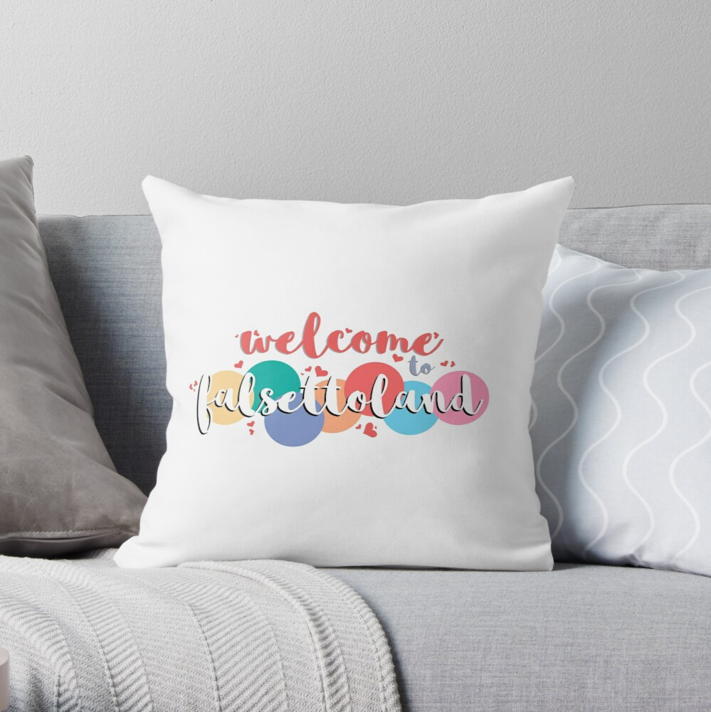 We're a Teeny-Tiny Band... Throw Pillow