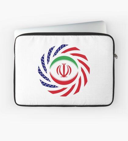 Iranian American Multinational Patriot Flag Series Laptop Sleeve
