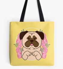 Cinnamon the Pug Tote Bag