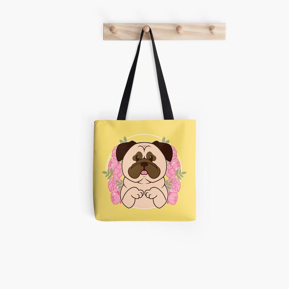 Cinnamon the Pug Tote Bag
