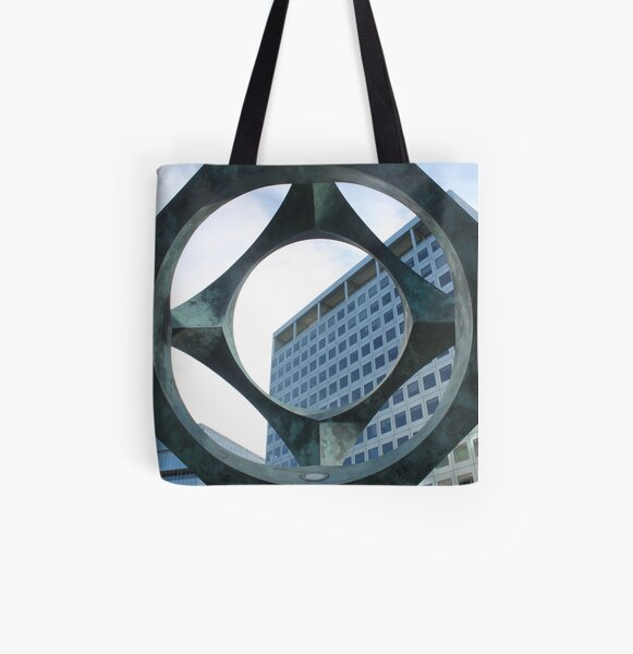 Abstract,pattern,psychedelic,twist,decoration,repetition,creativity All Over Print Tote Bag