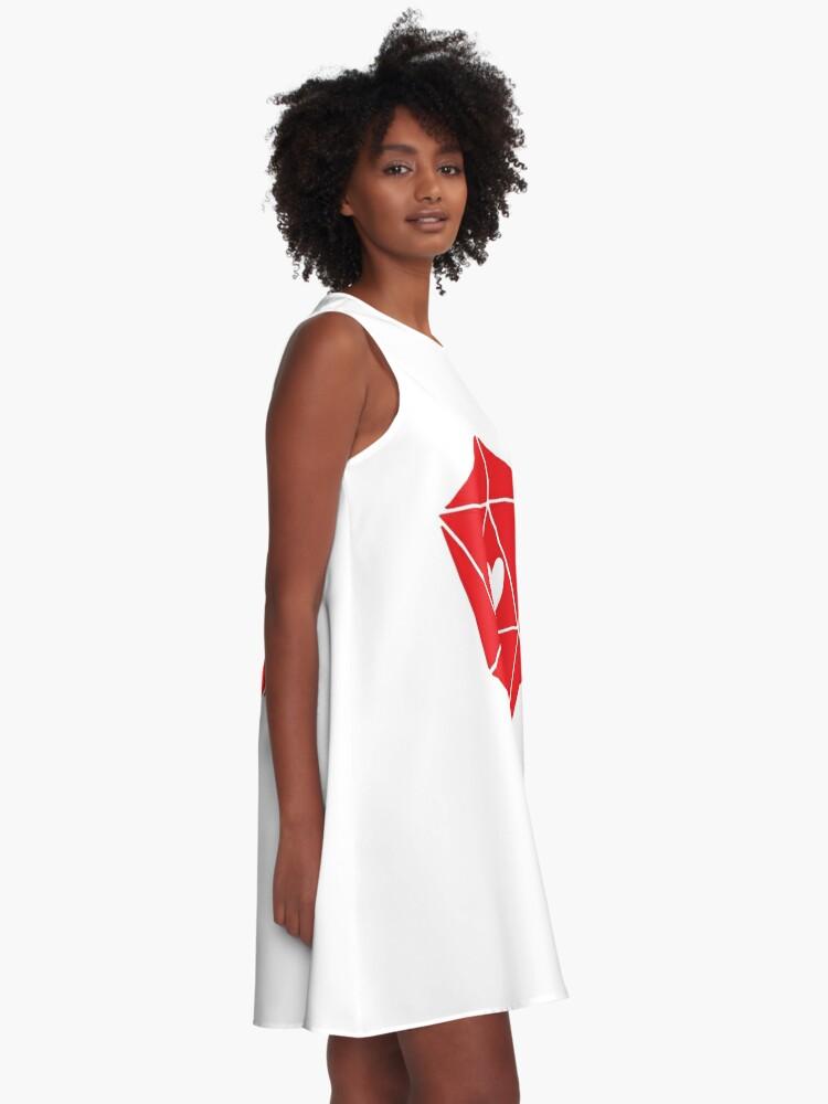 Alternate view of D20 Heart A-Line Dress