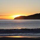 Adventure Bay Sunrise by Martin Hampson