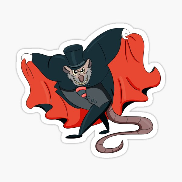 Ratigan Sticker