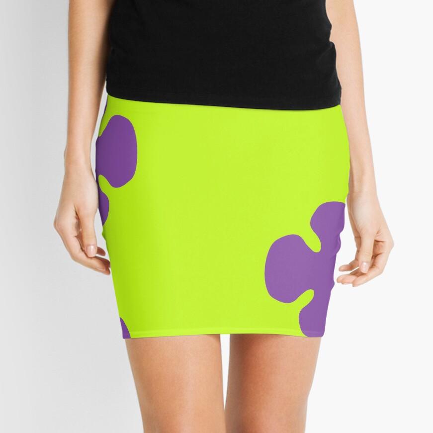 Sea flower Mini Skirt