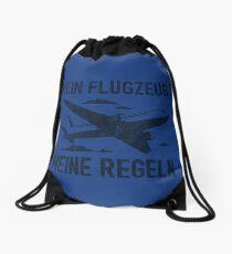 Mein Flugzeug Meine Regeln - Lustiges Piloten Geschenk Turnbeutel