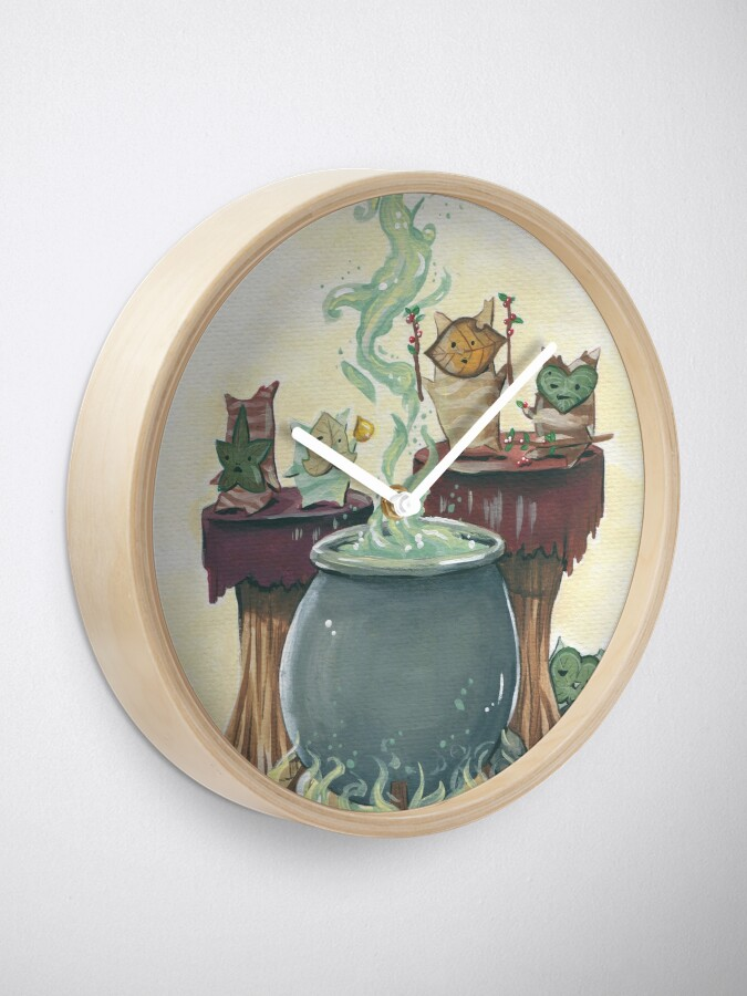 Alternate view of Cooking with Korok's Clock