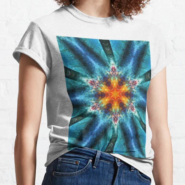 Motif, Visual Art, Kaleidoscope Classic T-Shirt
