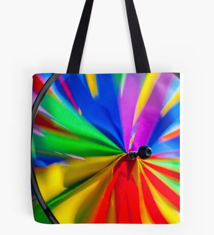 Colorful Wind Tote Bag