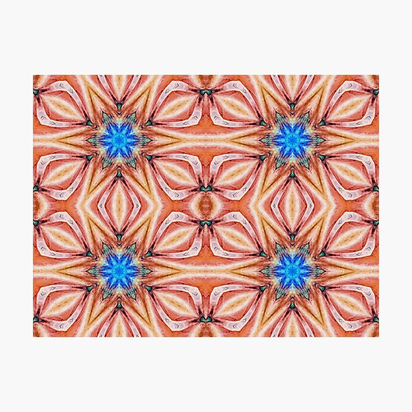 Motif, Visual Art, Kaleidoscope Photographic Print