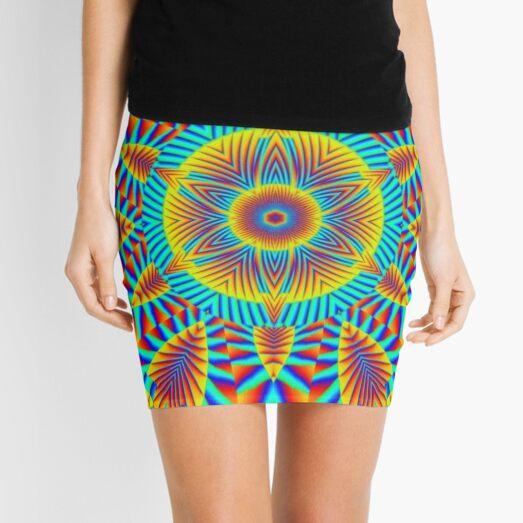 Psychedelic art, Art movement Mini Skirt