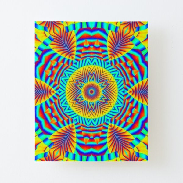 Psychedelic art, Art movement Canvas Mounted Print