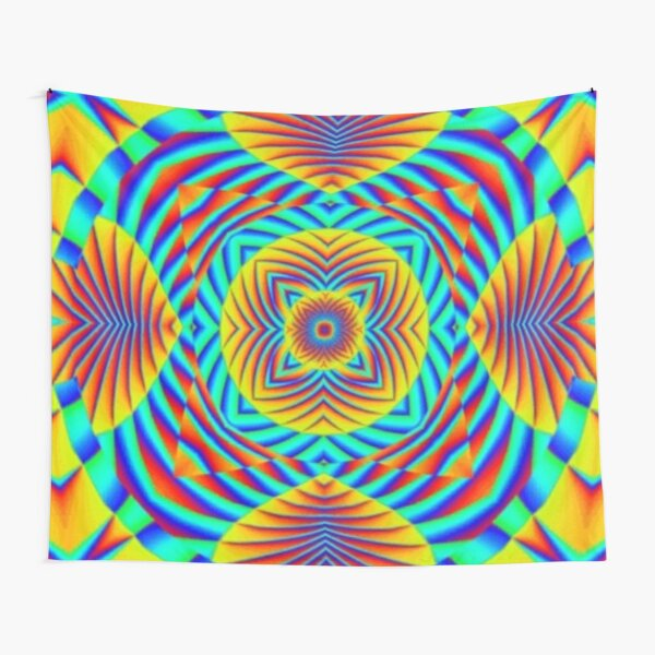 Psychedelic art, Art movement Tapestry