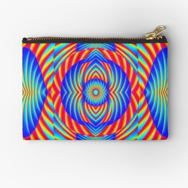 Psychedelic art, Art movement Zipper Pouch