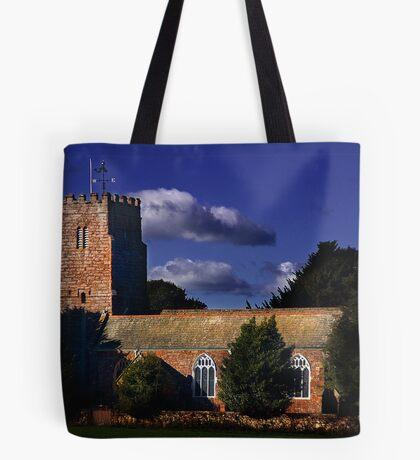 Powderham Church Tote Bag