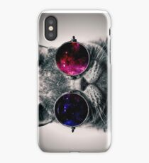 Cool Cat W/ Glasses iPhone Case