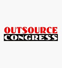 Outsource Congress Photographic Print