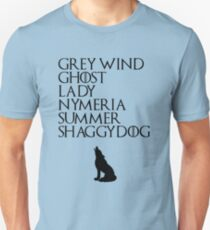 Stark Direwolves T-Shirt