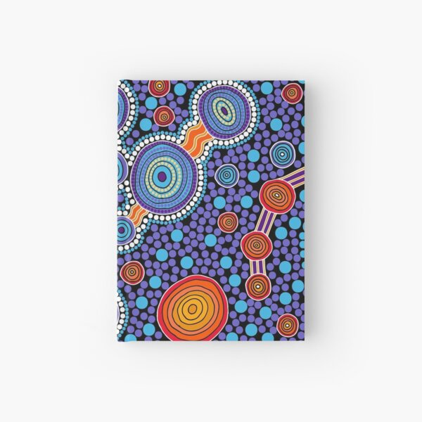 The Journey Blue Hardcover Journal