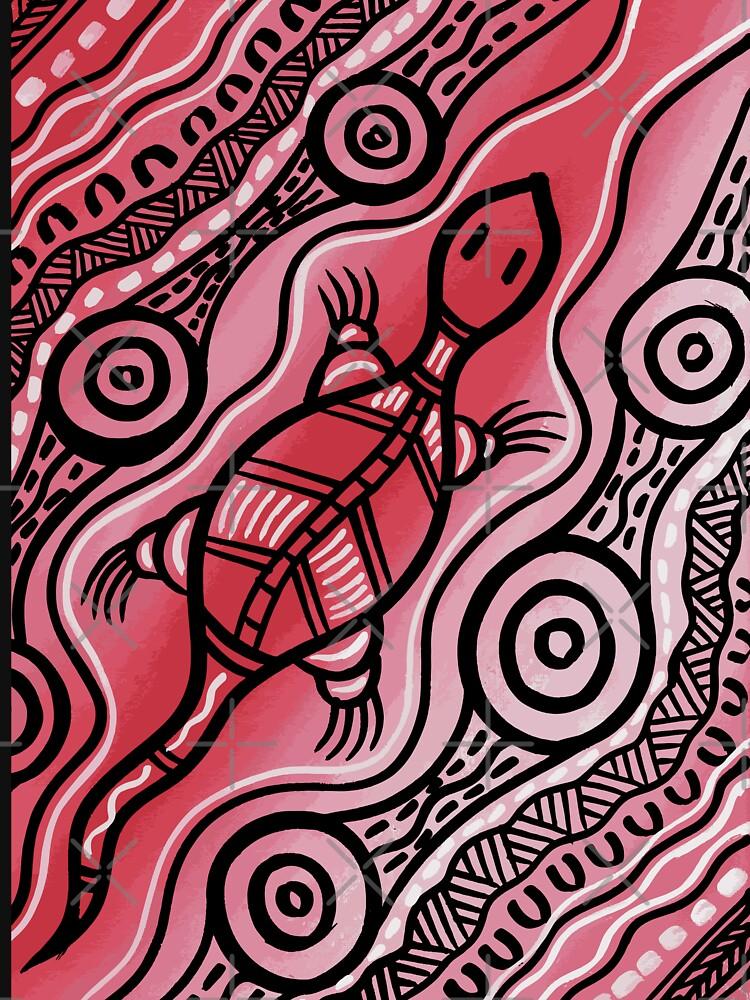 authentic aboriginal art goanna t shirt by hogartharts redbubble authentic aboriginal art goanna t shirt by hogartharts redbubble