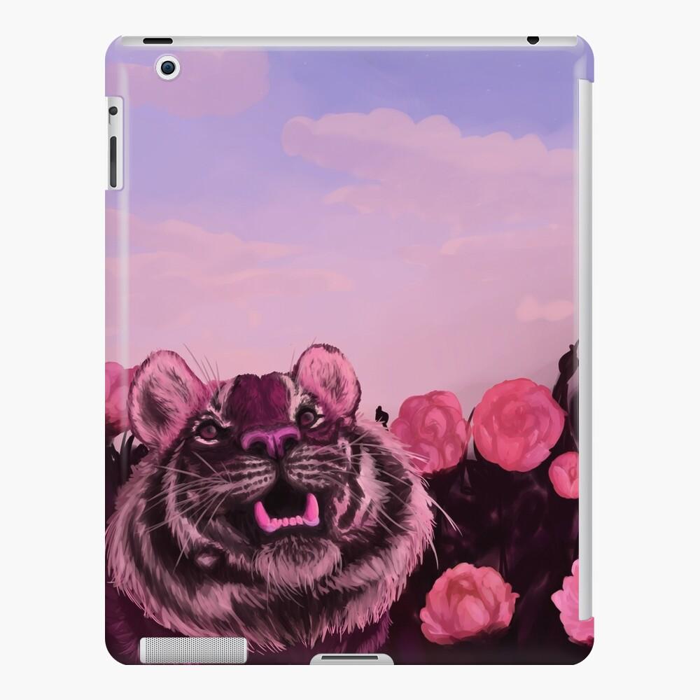 Pink Tiger iPad Case & Skin
