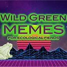 Wild Green Memes - Toucan, Moth, Frogs by Wild Green Memes Store