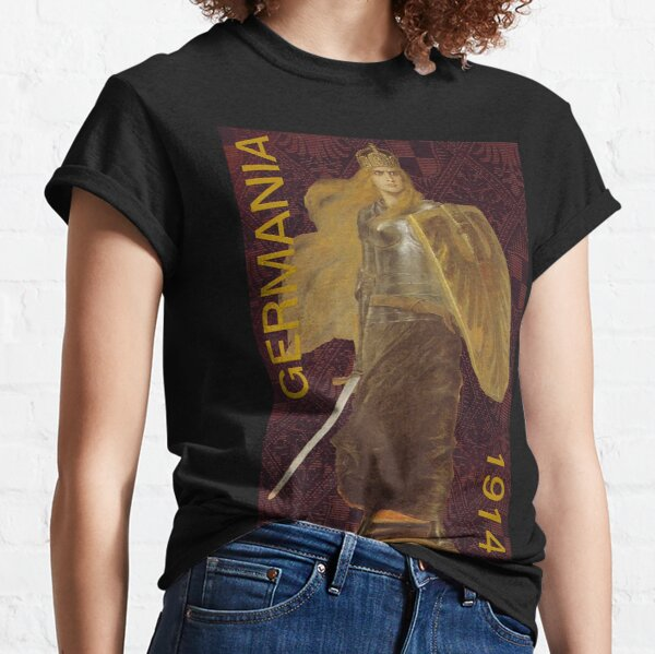 Germania 1914 with Prussian Symbols Classic T-Shirt