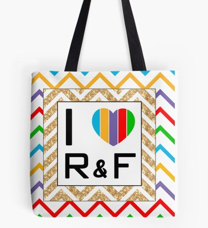 Heart Rodan and Fields  Tote Bag
