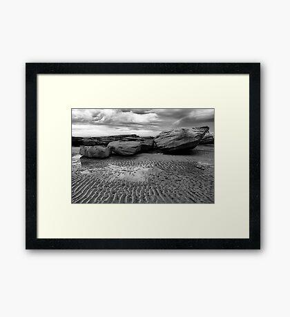 Rock Ledge Framed Print