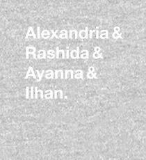 Alexandria & Ilhan & Ayanna & Rashida. (for darker shirts) Kids Pullover Hoodie