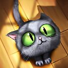 Scooter the cat by Panda-Siege