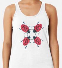 Lady Bug Mandala Racerback Tank Top