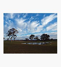 After Some Rain, Before The Grass Grew. Photographic Print