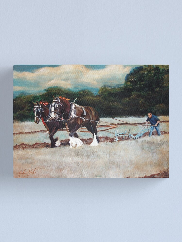 Alternate view of A Day at Spernall Canvas Print