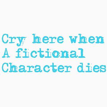 fictional character death pillow by thatfangirlgini