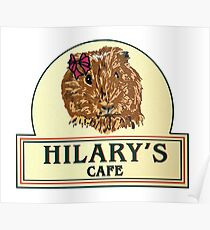 Hilary's Cafe Poster